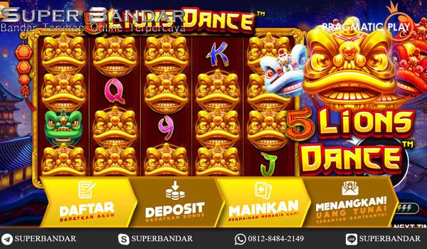 5 Lions Dance™ Pragmatic